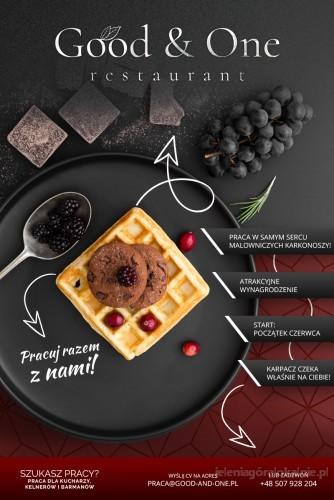 Kucharz/Kucharz śniadaniowy/Restauracja/Karpacz